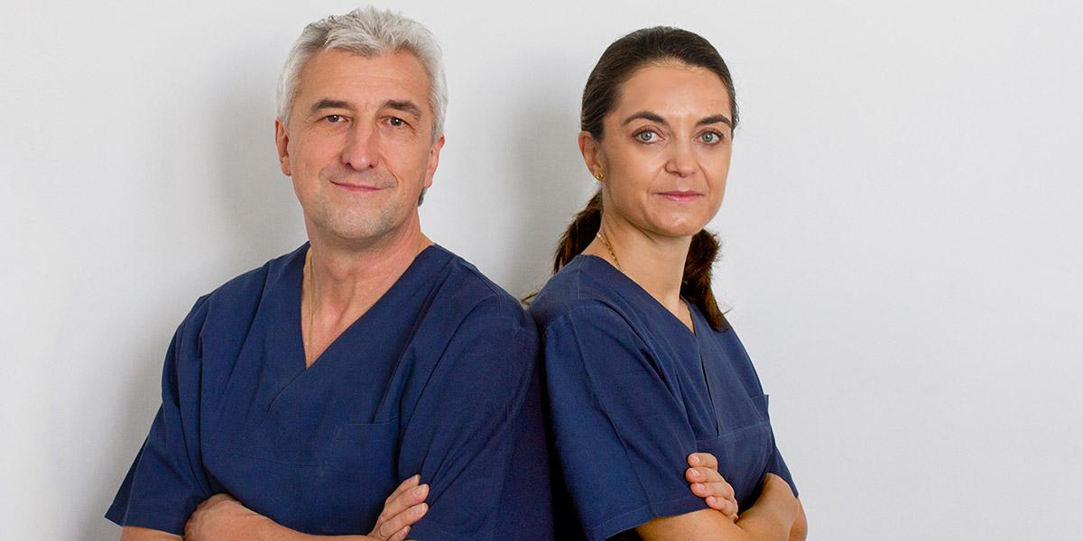 Dr. Roland Egerer und Dr. Claudia Egerer
